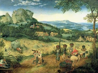 Haymaking, Possibly the Months of June and July, 1565
