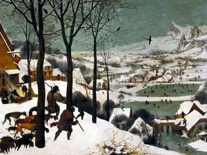 Hunters in the Snow (Winte), 1565 by Pieter Bruegel the Elder