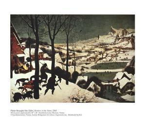 Hunters in the Snow by Pieter Bruegel the Elder