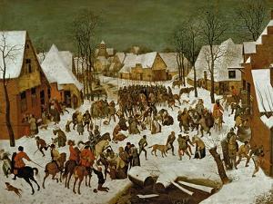 Massacre of the Innocents, 1565-66 by Pieter Bruegel the Elder