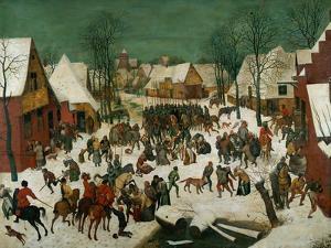 Massacre of the Innocents, 1565 by Pieter Bruegel the Elder