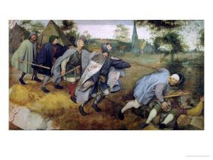 Parable of the Blind, 1568 by Pieter Bruegel the Elder