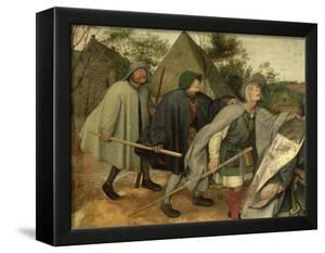 Parable of the Blind, Detail of Three Blind Men, 1568 by Pieter Bruegel the Elder