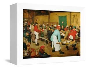 Peasant Wedding (Bauernhochzeit), 1568 by Pieter Bruegel the Elder
