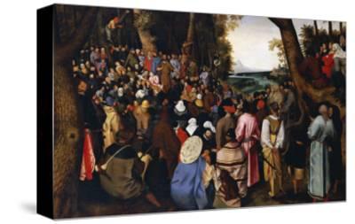 Saint John the Baptist Preaching the Baptism of Christ Beyond
