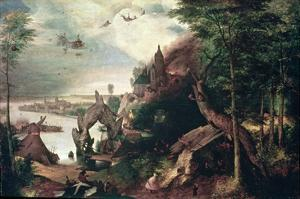 Temptation of St.Anthony, C.1550-75 (Oil on Panel) by Pieter Bruegel the Elder