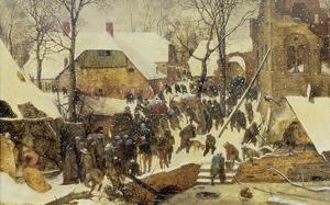 The Adoration of the Magi in the Snow, 1567 by Pieter Bruegel the Elder