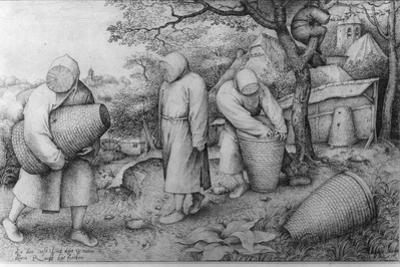 The Beekeepers, 'If You Know Where the Treasure Is, You Can Rob It', C.1567-68 by Pieter Bruegel the Elder