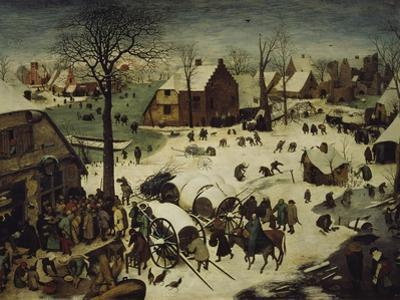 The Census at Bethlehem, 1566 by Pieter Bruegel the Elder