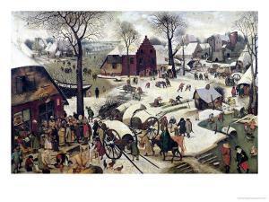 The Census at Bethlehem by Pieter Bruegel the Elder