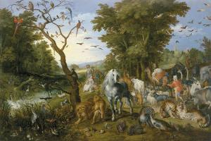 The Entry Of The Animals Into Noah'S Ark by Pieter Bruegel the Elder