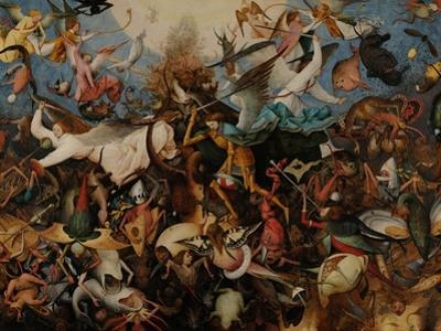 The Fall of the Rebel Angels, 1562 by Pieter Bruegel the Elder