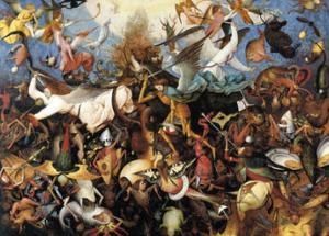 The Fall of the Rebel Angels, c.1562 by Pieter Bruegel the Elder