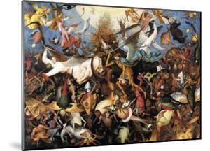 The Fall of the Rebel Angels, c.1562 by Pieter Bruegel the Elder
