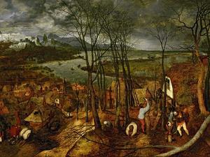 The Gloomy Day (Early Sprin), 1565 by Pieter Bruegel the Elder