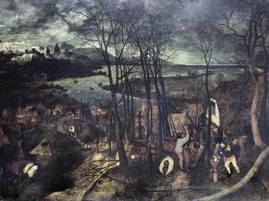 The Gloomy Day by Pieter Bruegel the Elder