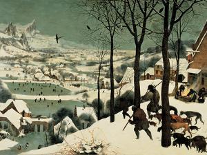 The Hunters in the Snow by Pieter Bruegel the Elder