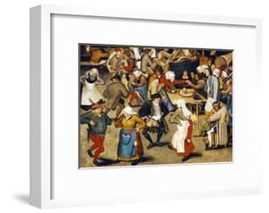 The Indoor Wedding Dance by Pieter Bruegel the Elder
