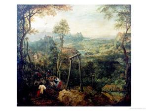 The Magpie on the Gallows, 1568 by Pieter Bruegel the Elder