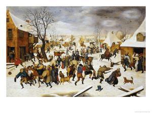 The Massacre of the Innocents by Pieter Bruegel the Elder