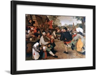 The Peasant Dance, 1568-1569