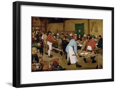 The Peasant Wedding, Ca 1568