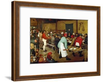 The Peasants' Wedding, 1568