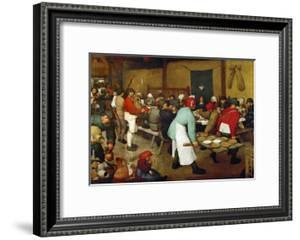 The Peasants' Wedding, 1568 by Pieter Bruegel the Elder