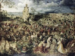 The Procession to Calvary by Pieter Bruegel the Elder