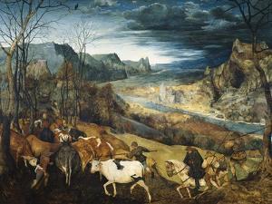 The Return of the Herd by Pieter Bruegel the Elder