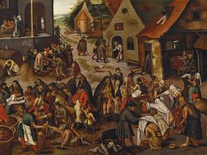 The Seven Acts of Mercy by Pieter Bruegel the Elder
