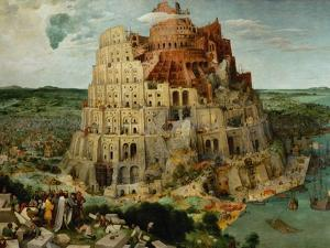 The Tower of Babel, 1563 by Pieter Bruegel the Elder