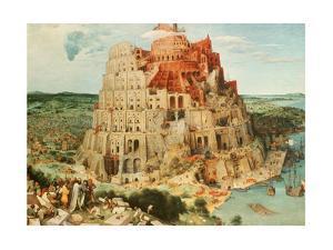 'Tower of Babel', 1563. Artist: Pieter Bruegel the Elder by Pieter Bruegel the Elder