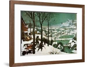 Winter (Hunters in the Snow) by Pieter Bruegel the Elder
