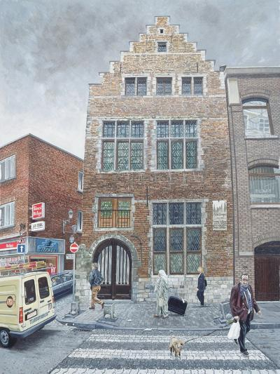 Pieter Brueghel's House in Brussels, 1996-Huw S. Parsons-Giclee Print