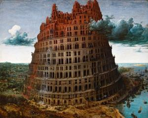 The Tower of Babel by Pieter Brueghel the Elder by Pieter Brueghel the Elder