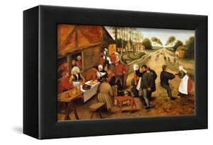 A Flemish Kermesse by Pieter Brueghel the Younger