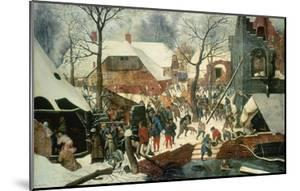 Adoration of the Magi in the Snow by Pieter Brueghel the Younger