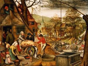 Allegory of Autumn by Pieter Brueghel the Younger