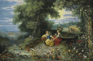 An Allegory of Water and Earth by Pieter Brueghel the Younger