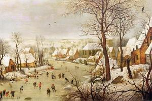 Bird Trap by Pieter Brueghel the Younger