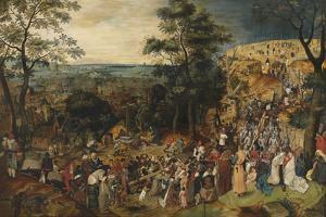 Calvary by Pieter Brueghel the Younger