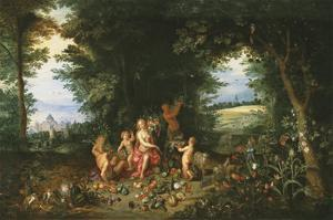 Landscape with Ceres (Allegory of Earth) by Pieter Brueghel the Younger