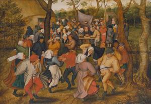 Peasant Kermis by Pieter Brueghel the Younger