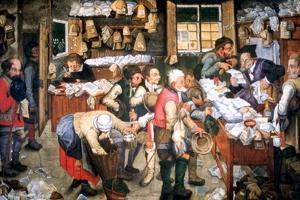 Rent Day, C1584-1638 by Pieter Brueghel the Younger