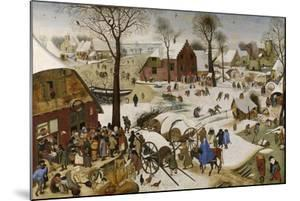 The Census at Bethlehem (The Numbering at Bethlehe), First Third of 17th C by Pieter Brueghel the Younger