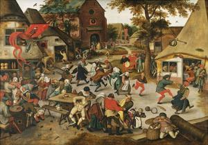 The Kermesse of St. George by Pieter Brueghel the Younger