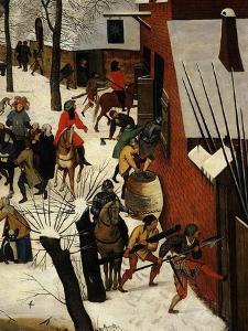 The Massacre of the Innocents (Detail) by Pieter Brueghel the Younger
