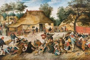 The Peasant Wedding by Pieter Brueghel the Younger