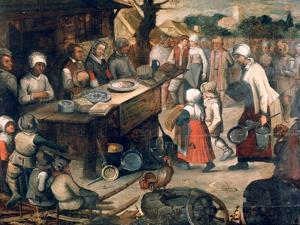 The Presentation of Gifts, C1584-1638 by Pieter Brueghel the Younger